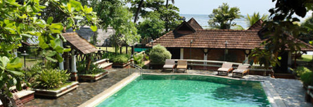 Hotel Punnamada - Alleppy | Hotels in Allepy